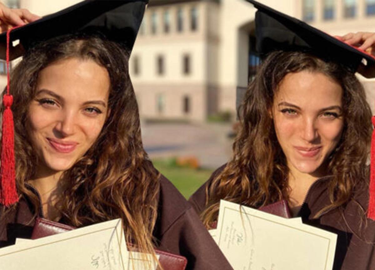 Ünlü oyuncu Leyla Tanlar, törensiz mezun oldu!