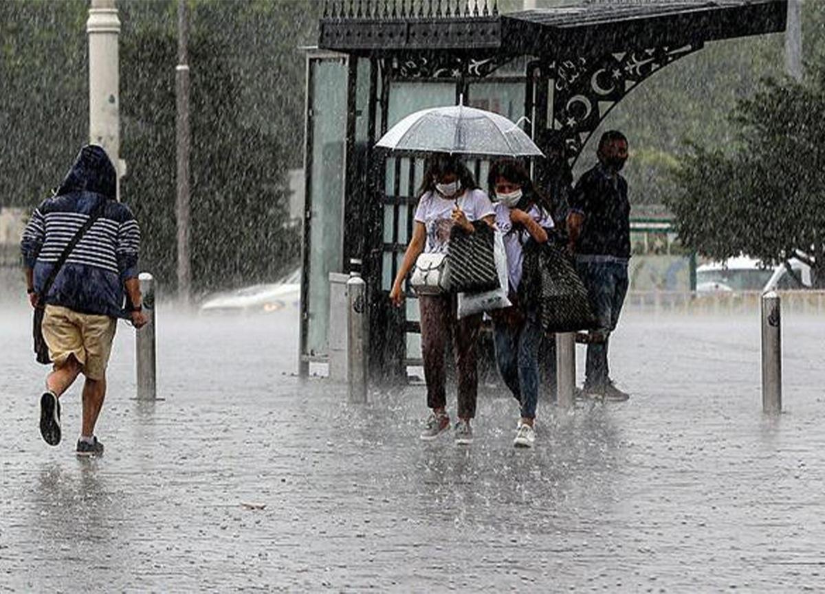 Meteoroloji, sağanak yağış için uyardı!
