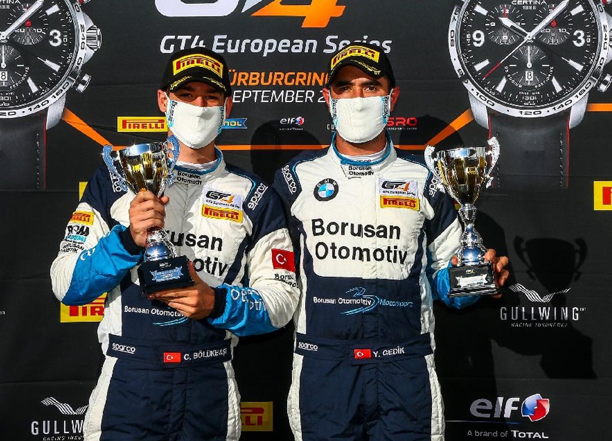 Borusan Otomotiv Motorsport'un genç pilotları art arda 3. kez kupayla döndüler