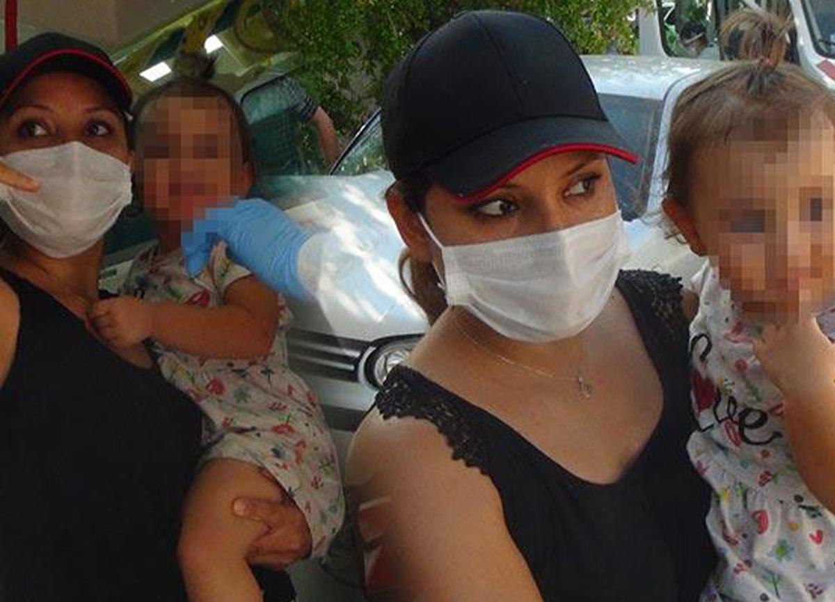 Antalya'da trafik kazası! Bebek koltuğu hayat kurtardı!