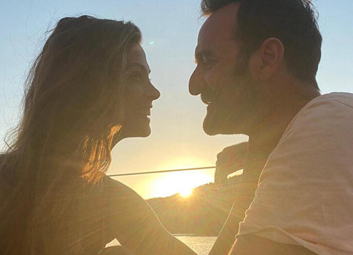 Timur Acar ile kendisi gibi oyuncu olan eşi Eda Özerkan, yaz tatiline çıktı
