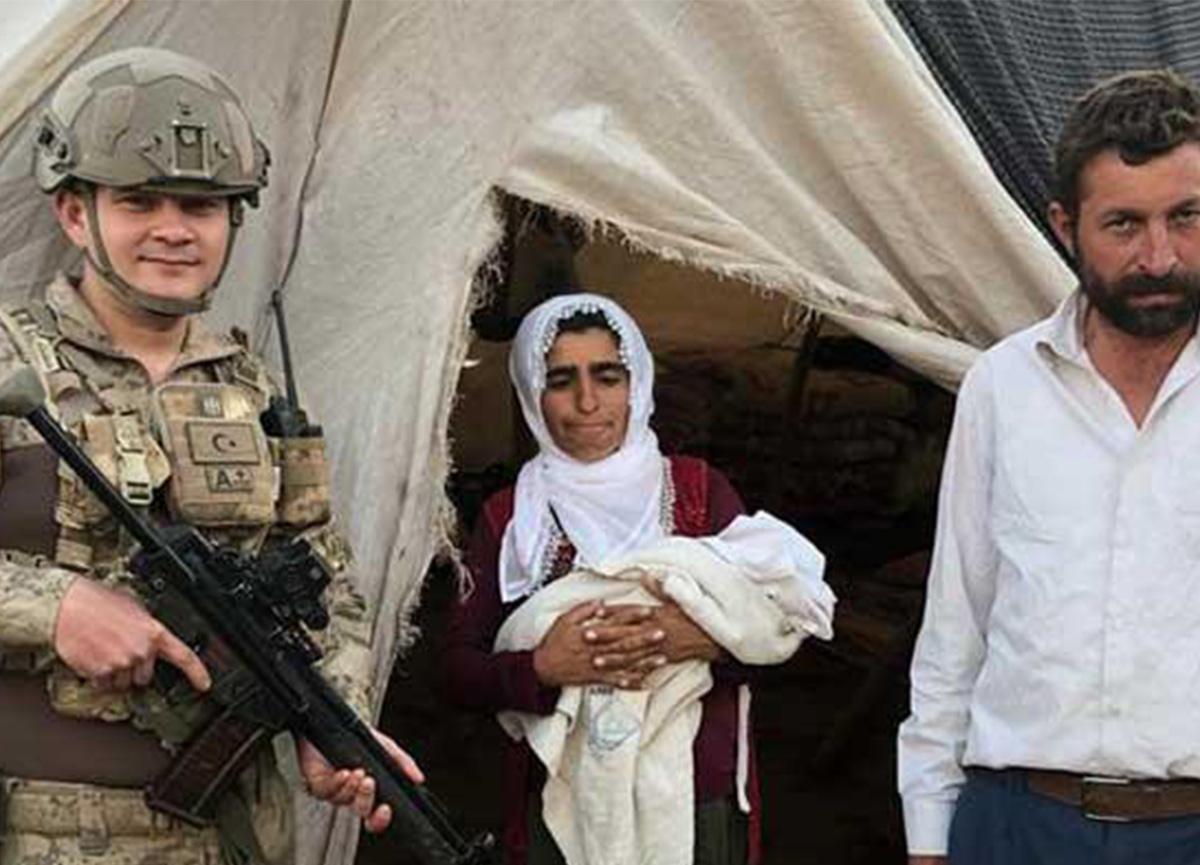 Şırnak'ta jandarma doktor talimatıyla doğum yaptırdı