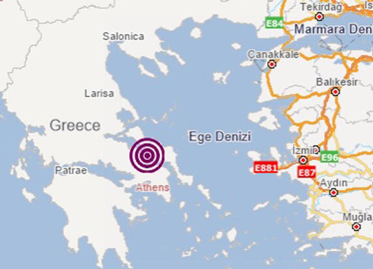 Son dakika: Ege'de deprem oldu!