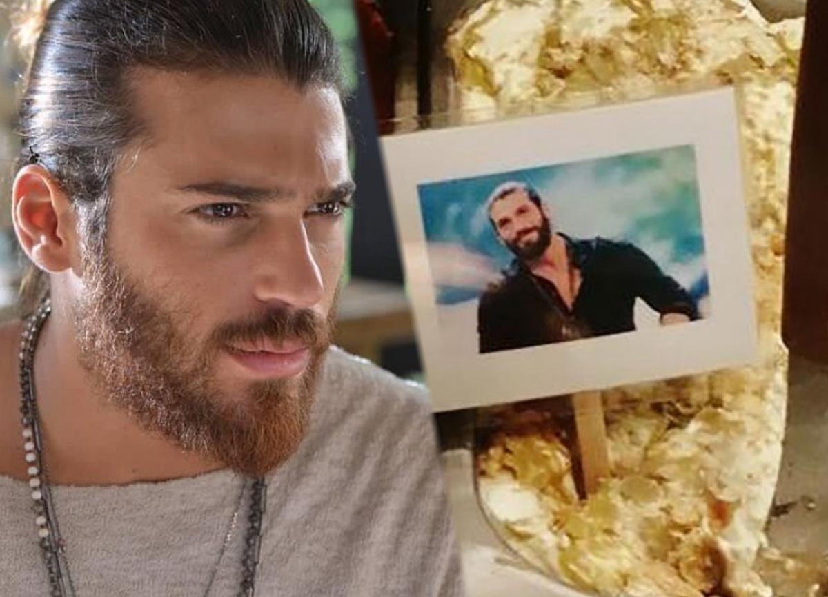 Can Yaman'ın dondurmasını yaptılar! İtalyanlar dizisini izlerken yiyor...