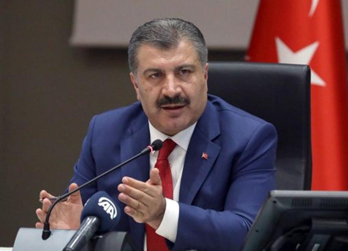 Bakan Koca açıkladı! Türkiye'de koronavirüs yüzünden son 24 saatte 57 kişi yaşamını yitirdi