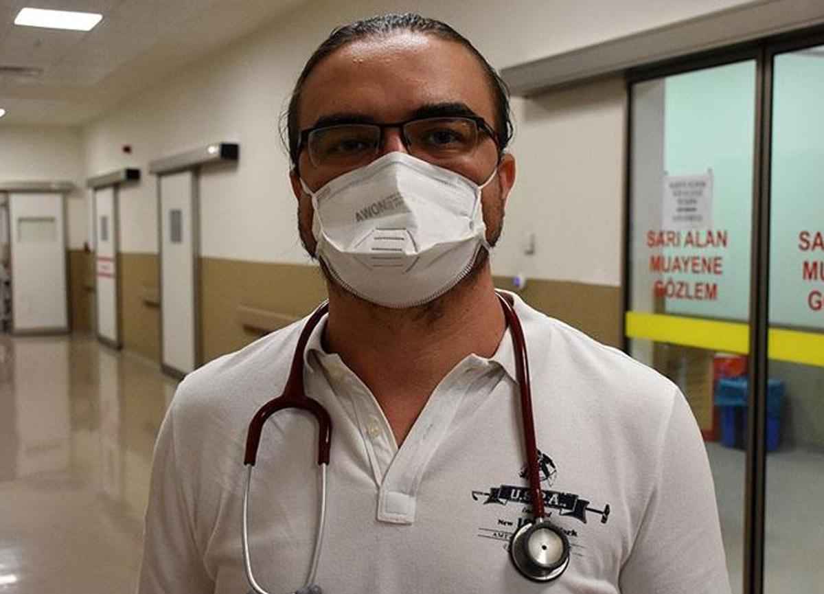 Koronavirüsü yenen doktor Mustafa Silcan yaşadıklarını anlattı