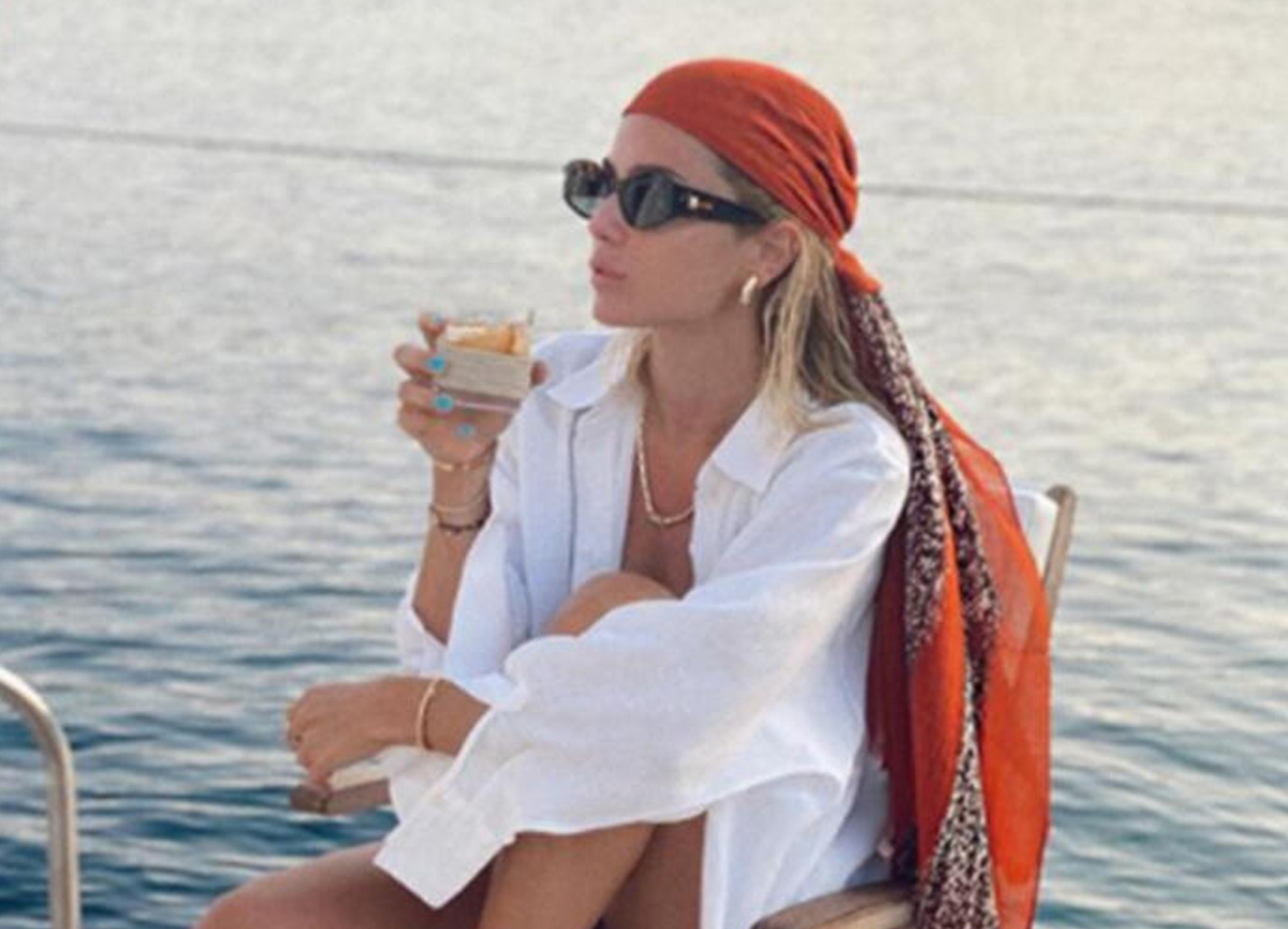 Hacı Sabancı'nın sevgilisi Zeynep Nazlı Kayı'nın tekneden paylaştığı fotoğraf gündem oldu
