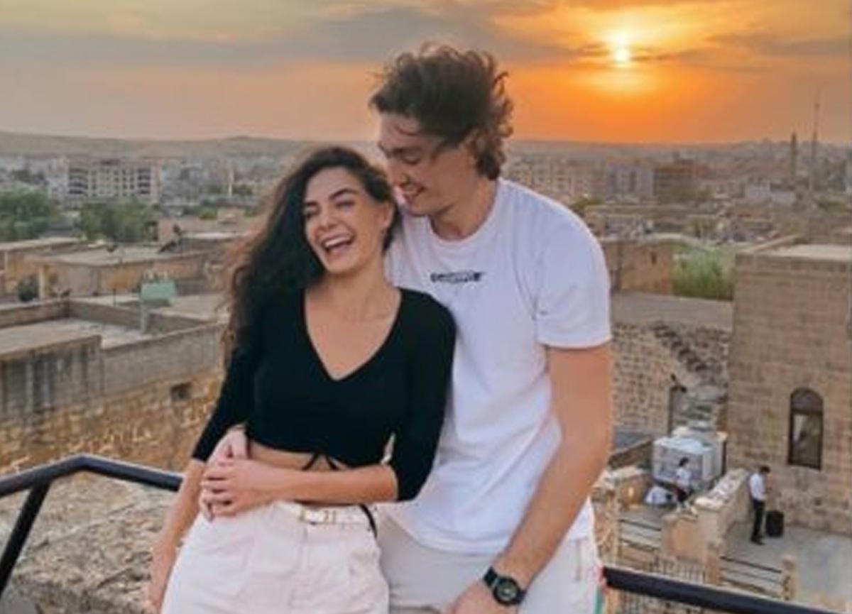 Ebru Şahin'i sevgilisi basketbolcu Cedi Osman yalnız bırakmadı