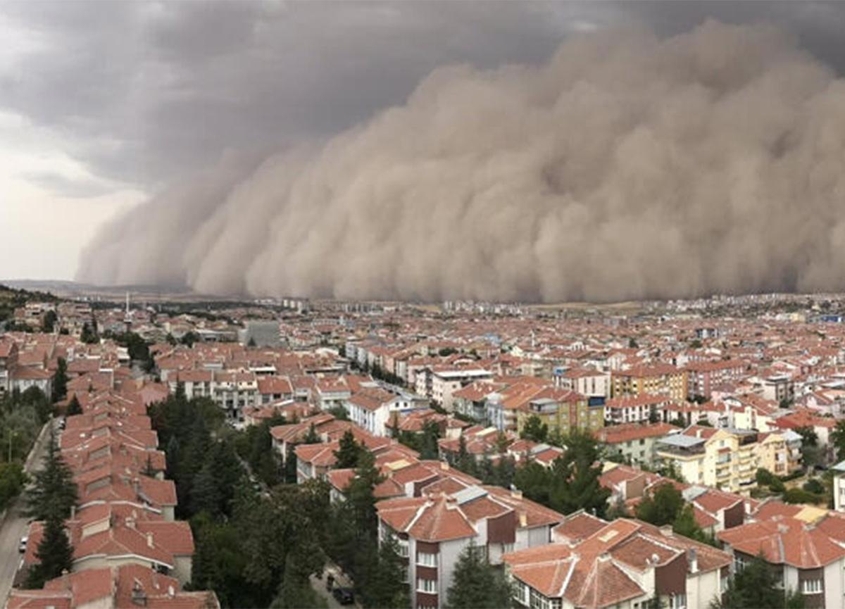 Dikkat! Meteoroloji'den toz fırtınası uyarısı!