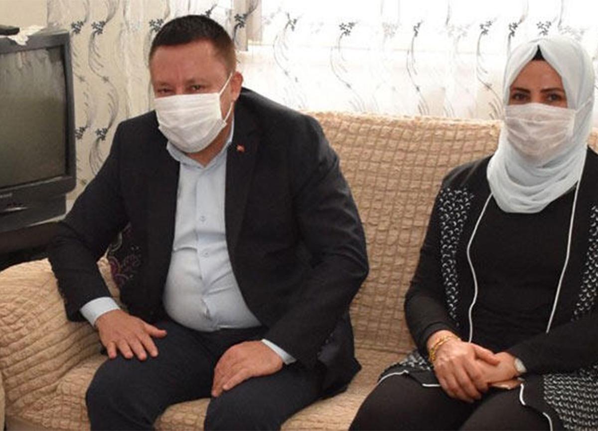 Belediye Başkanı Hüseyin Beyoğlu'nun eşinin testi pozitif çıktı! Kendisini izole etti!