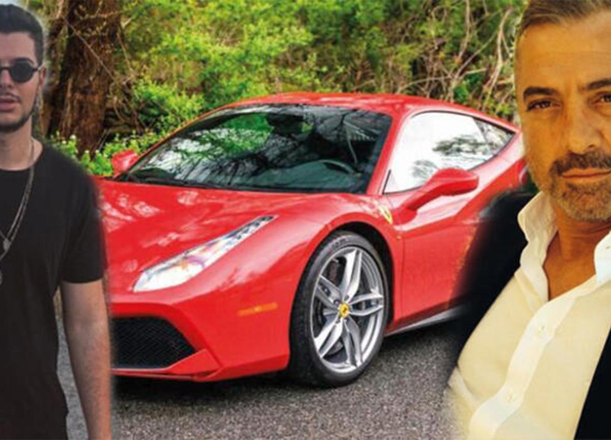 Erdal Acar'dan oğluna büyük sürpriz! 6 milyonluk Ferrari!