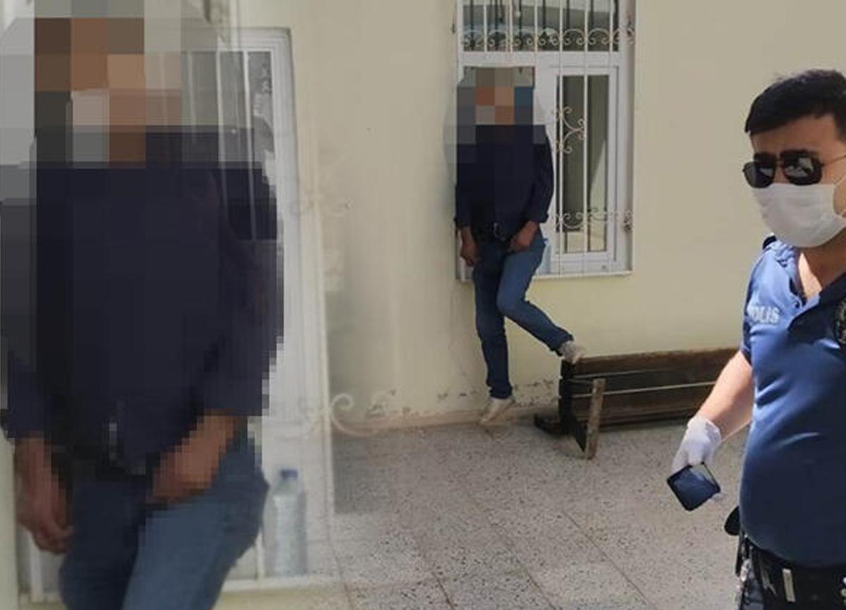 Şanlıurfa'da cami avlusunda şoke eden görüntü! İple asılı erkek cesedi bulundu...
