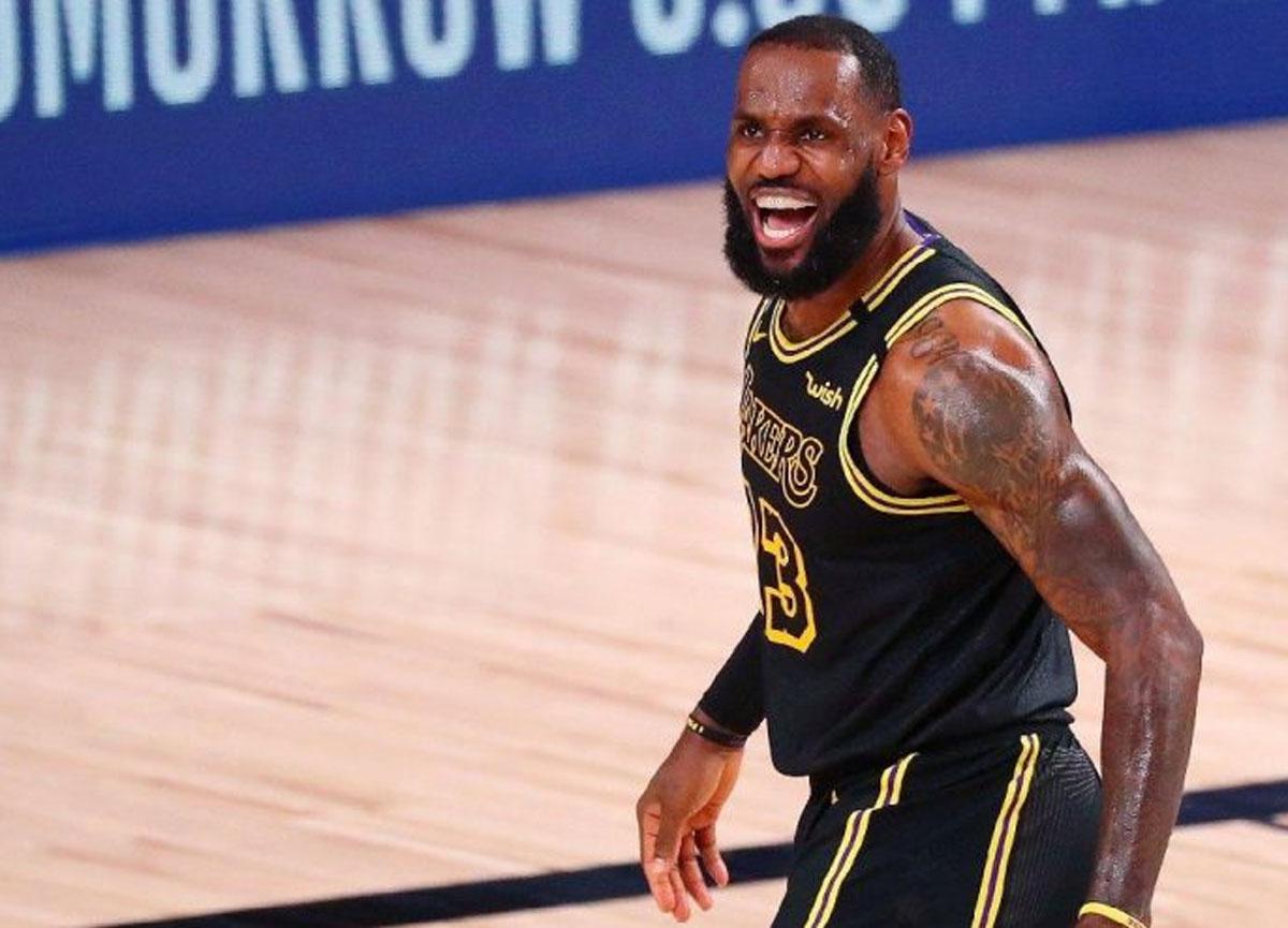 Yok artık LeBron James: 16. kez en iyi 5'ler arasında yer alarak rekor kırdı