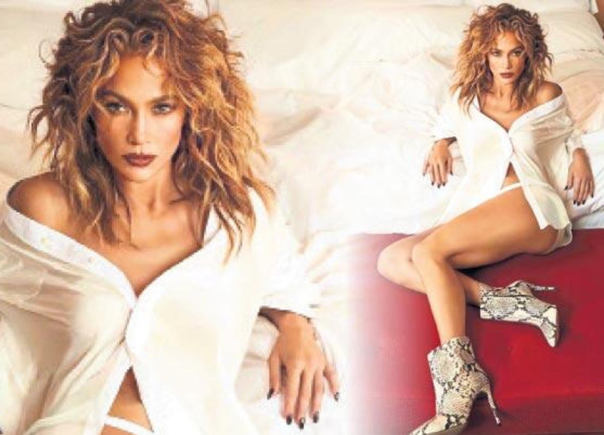 Dünyaca ünlü şarkıcı Jennifer Lopez, kendi adını taşıyan bir koleksiyon hazırladı