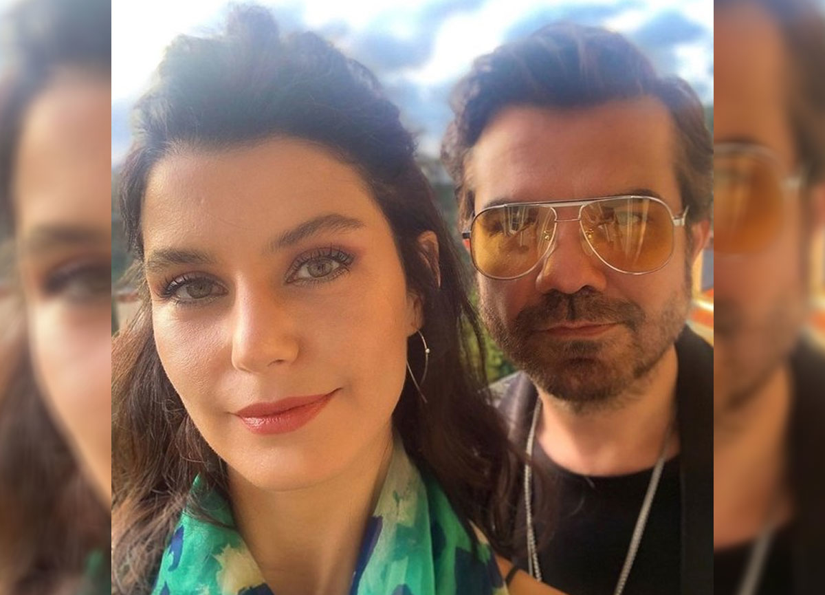 Beren Saat, eşi Kenan Doğulu ile bir fotoğrafını Instagram'dan paylaştı