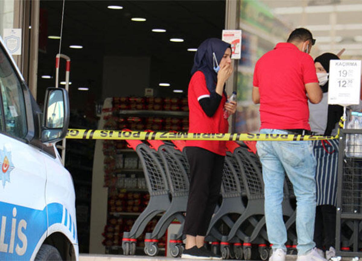 Diyarbakır'da şok! Market çalışanını rehin aldı!