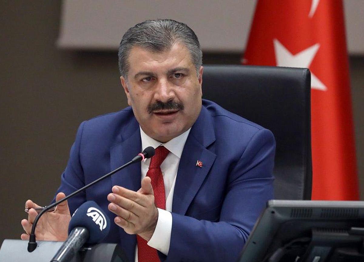 Türkiye'de koronavirüs yüzünden son 24 saatte 68 kişi yaşamını yitirdi