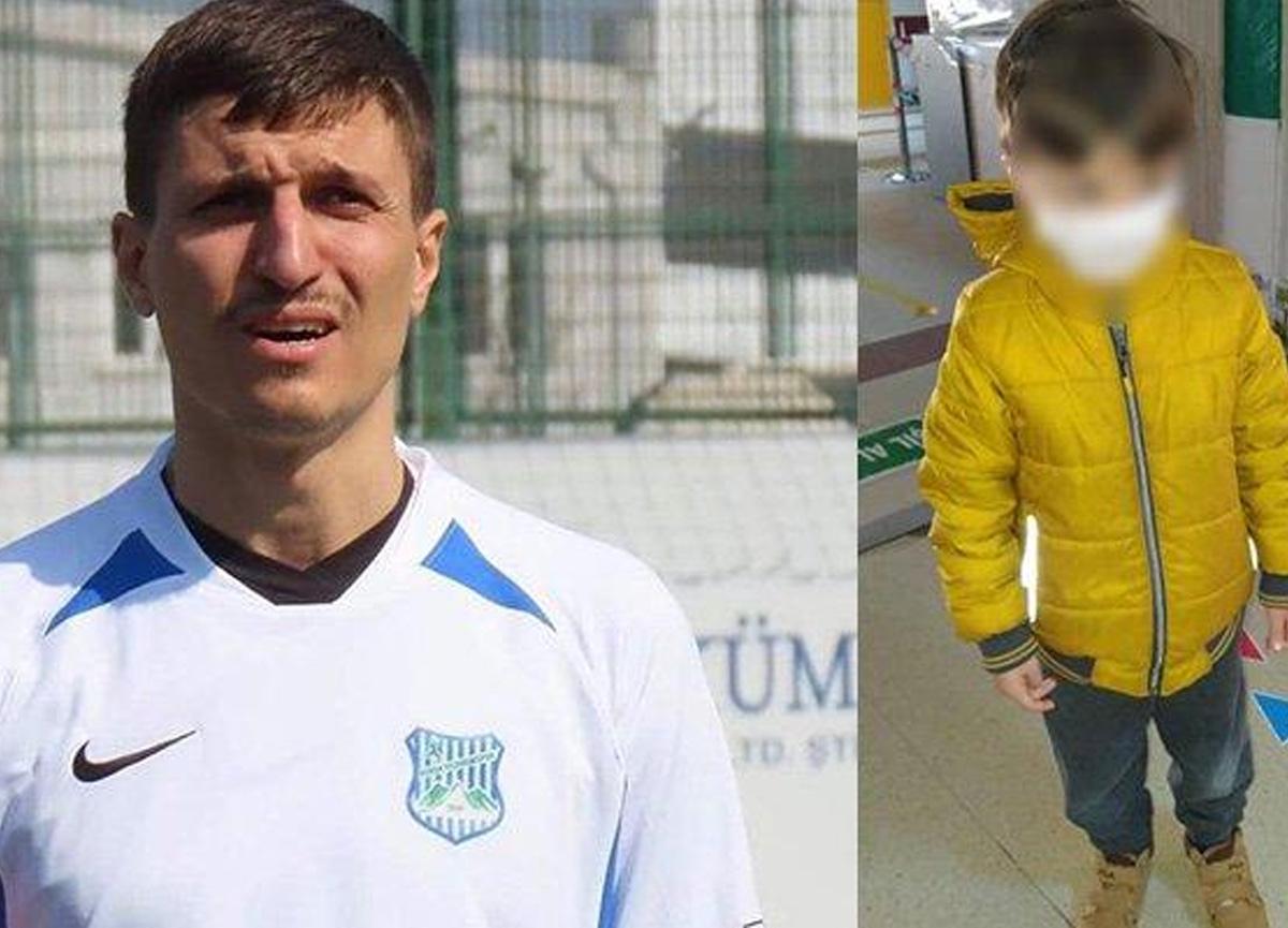 5 yaşındaki oğlunu öldürmekten tutuklanmıştı! Eski futbolcu için müebbet istendi...