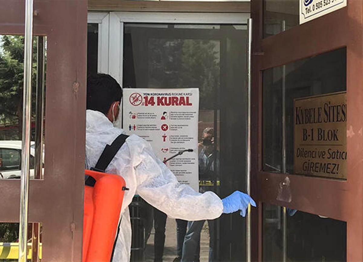 Apartman görevlisinde koronavirüs çıktı! 500 kişi karantinaya alındı!