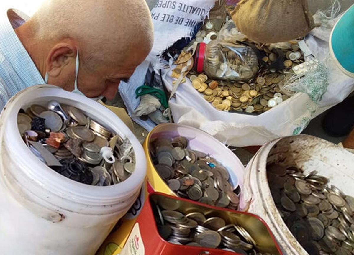 Aydın'daki çöp evden çıkan şey şok etti! Tam 169 bin lira...