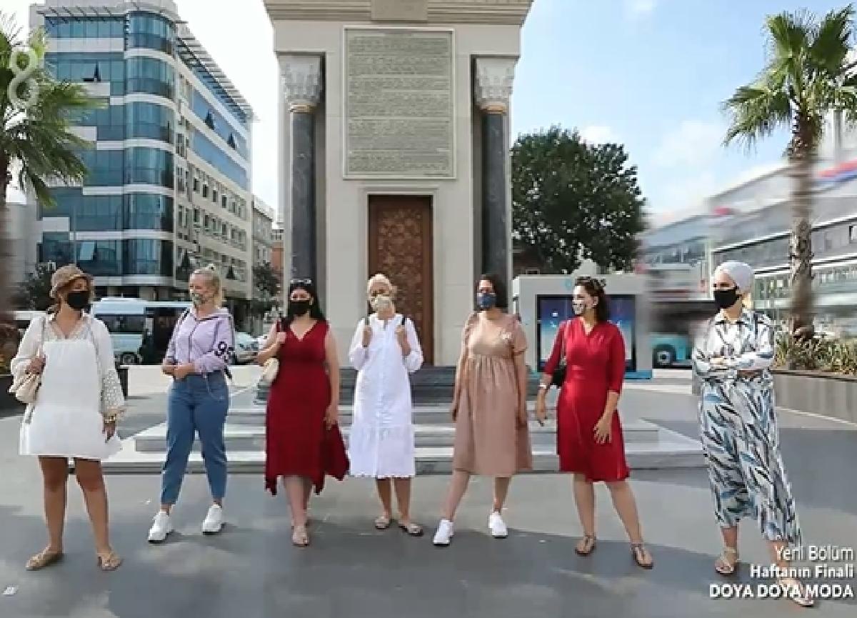 Doya Doya Moda'da kim elendi? 25 Eylül Cuma Doya Doya Moda'da haftanın birincisi kim oldu? Günün konsepti!