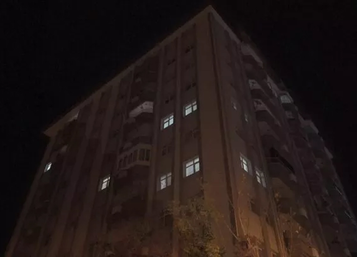 Sivas'ta korkunç olay! 10. kattan apartmanın havalandırma boşluğuna düşen kız hayatını kaybetti
