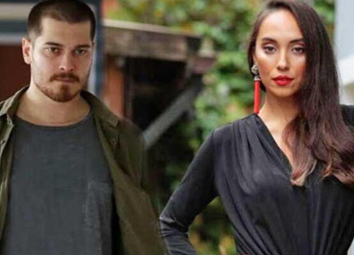 Duygu Sarışın sevgilisi Çağatay Ulusoy'un yeni imajı hakkında yorum yaptı