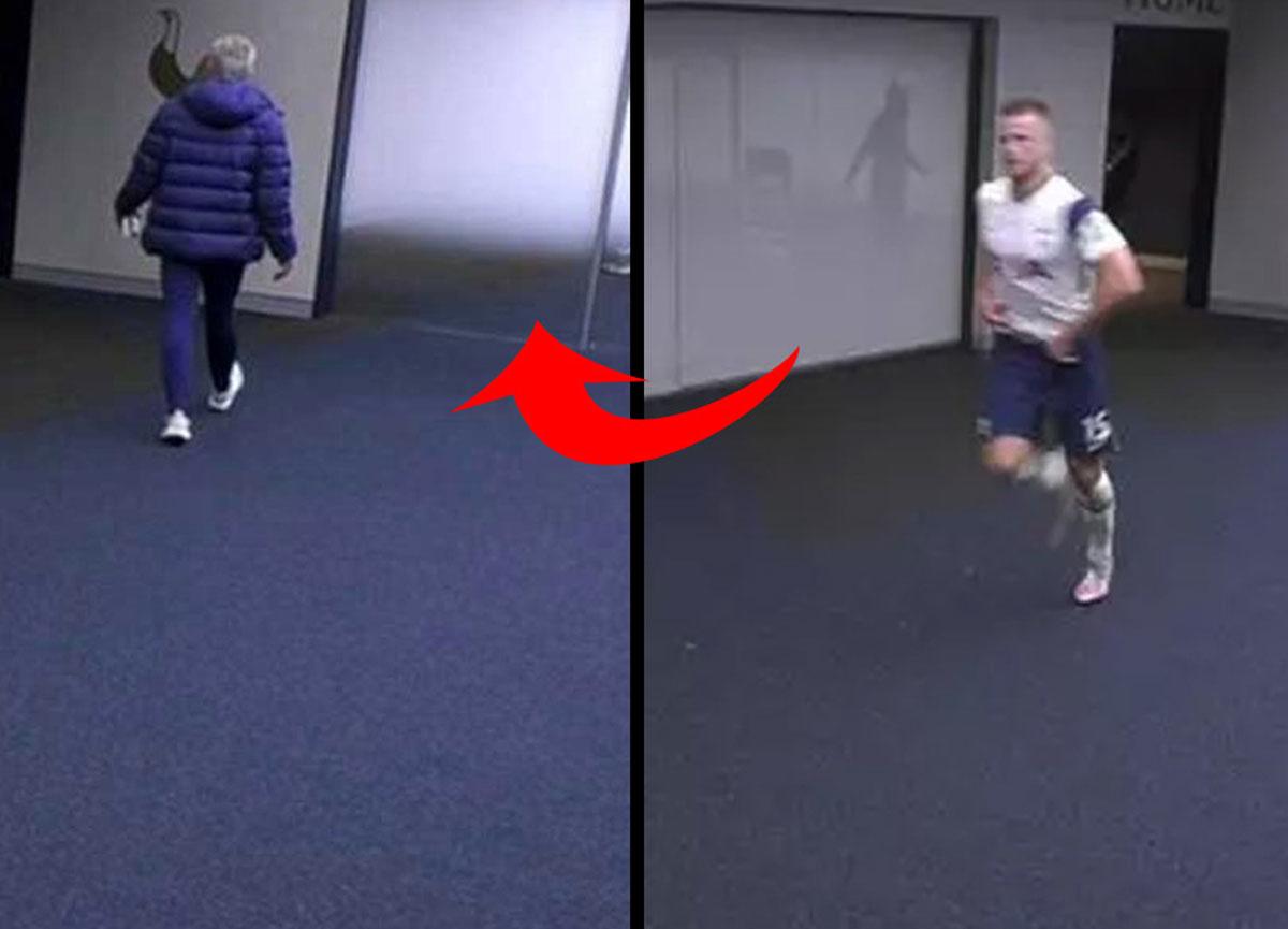 Maçı bırakıp tuvalete giden Eric Dier, hocasını çıldırttı! Mourinho koşup geri getirdi