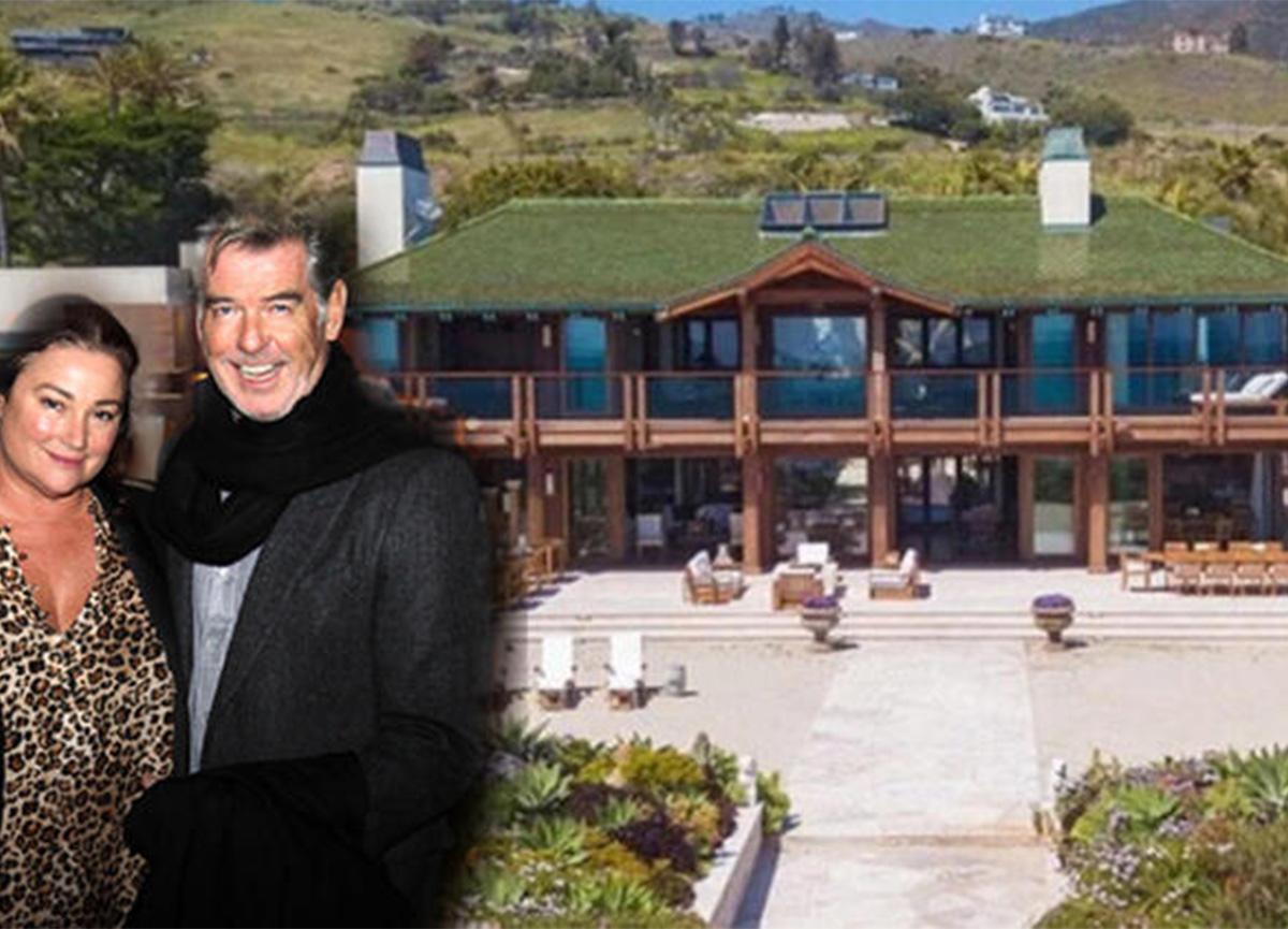 'James Bond' Pierce Brosnan, evini 708 milyon TL'ye satışa çıkardı!