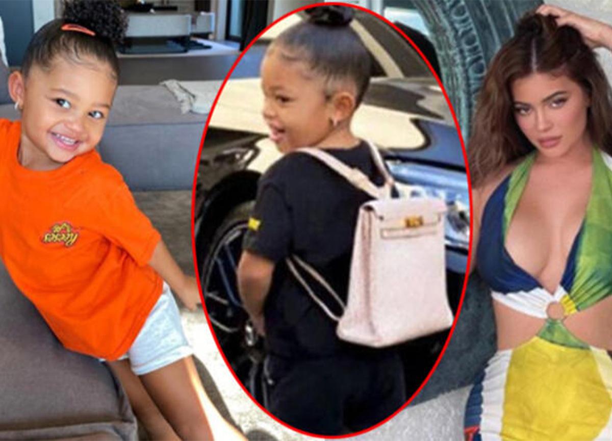 Kylie Jenner'ın kızına aldığı çantanın fiyatı dudak uçuklattı