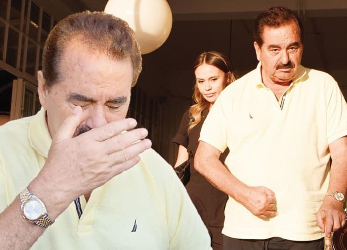 İbrahim Tatlıses, gözyaşlarını tutamadı!