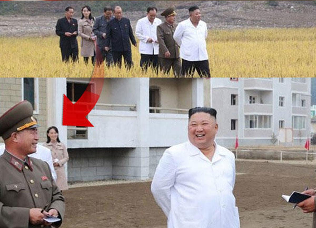 Kim Jong-Un'un kız kardeşi Kim Yo-jong 2 ay aradan sonra ilk kez görüntülendi