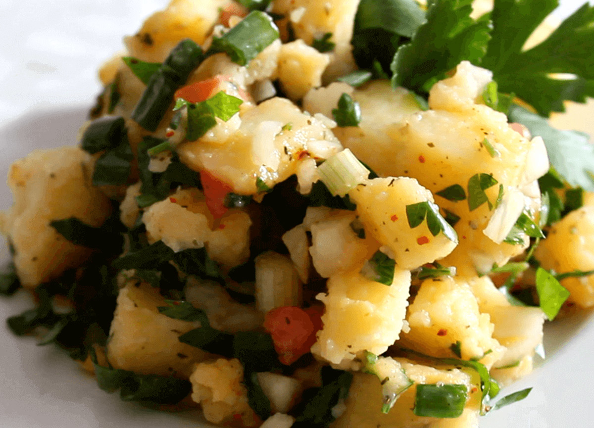 Patates salatası nasıl yapılır? 3 Ekim MasterChef 2020 pratik patates salatası tarifi ve gerekli malzemeler