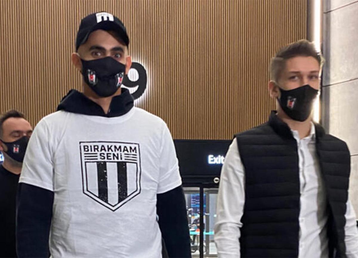 Beşiktaş'la anlaşan Rachid Ghezzal İstanbul'a geldi!