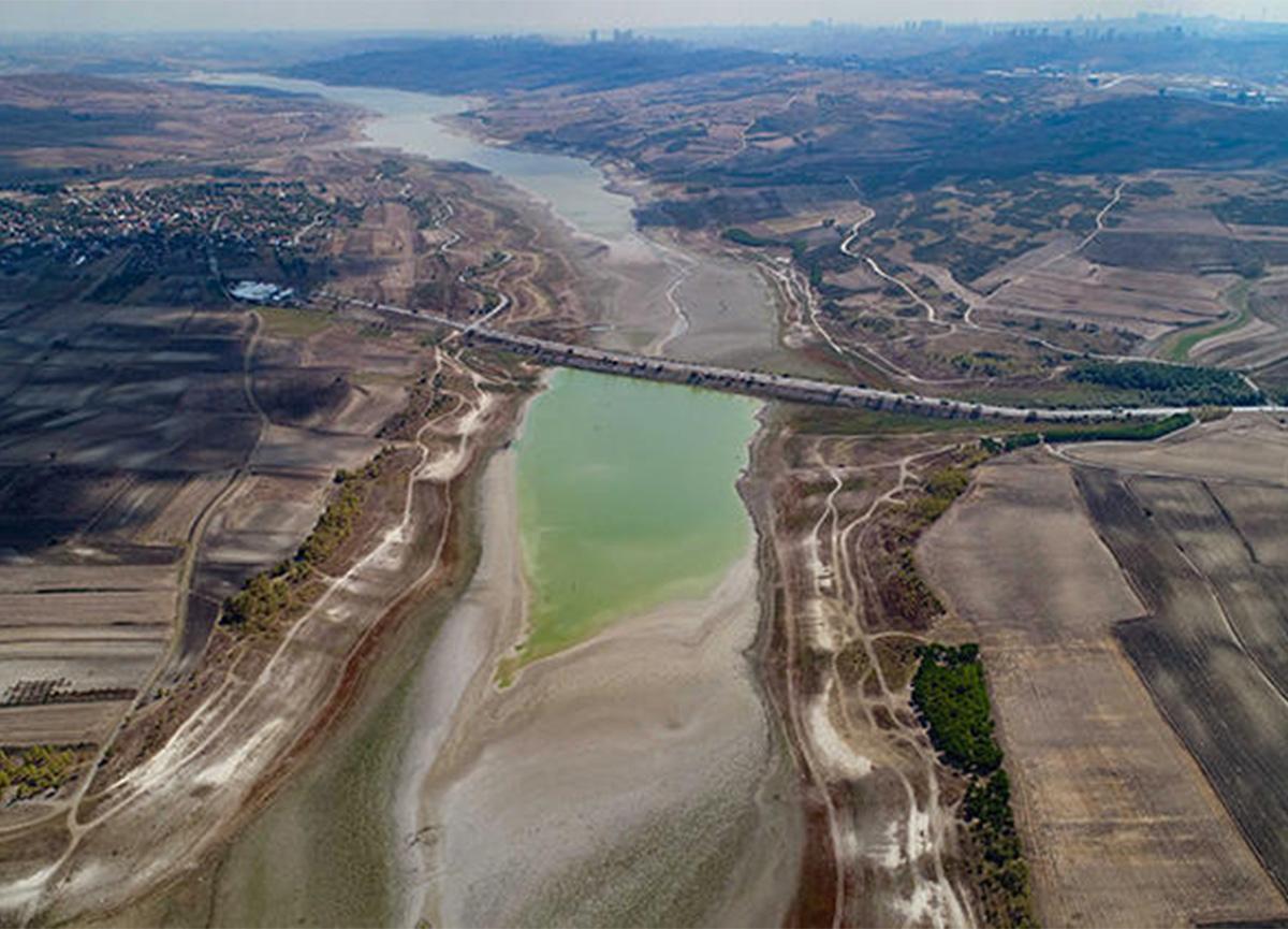 İstanbul için alarm! Barajlardaki doluluk oranı son 5 yılın en düşük seviyesinde!