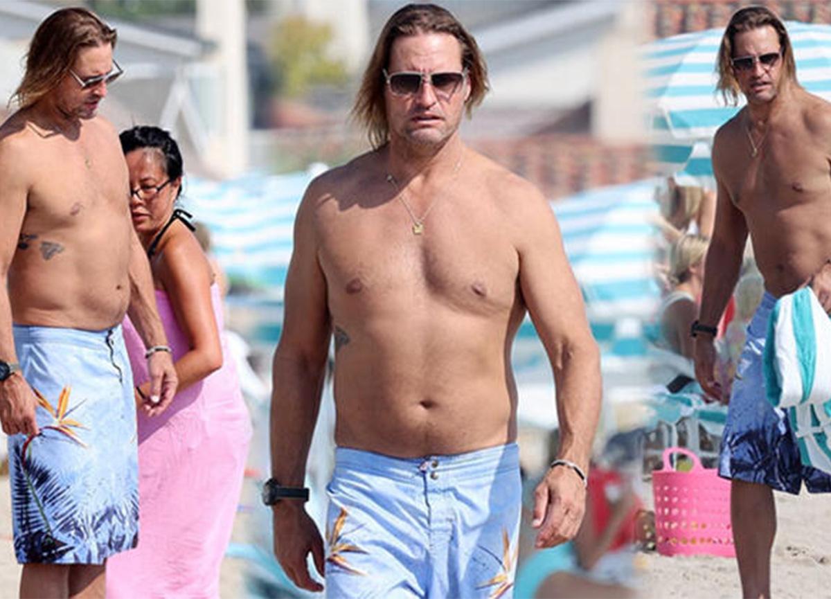 'Lost' dizisinin 'Sawyer'ı plajda görüntülendi! Göbeği dikkatlerden kaçmadı!