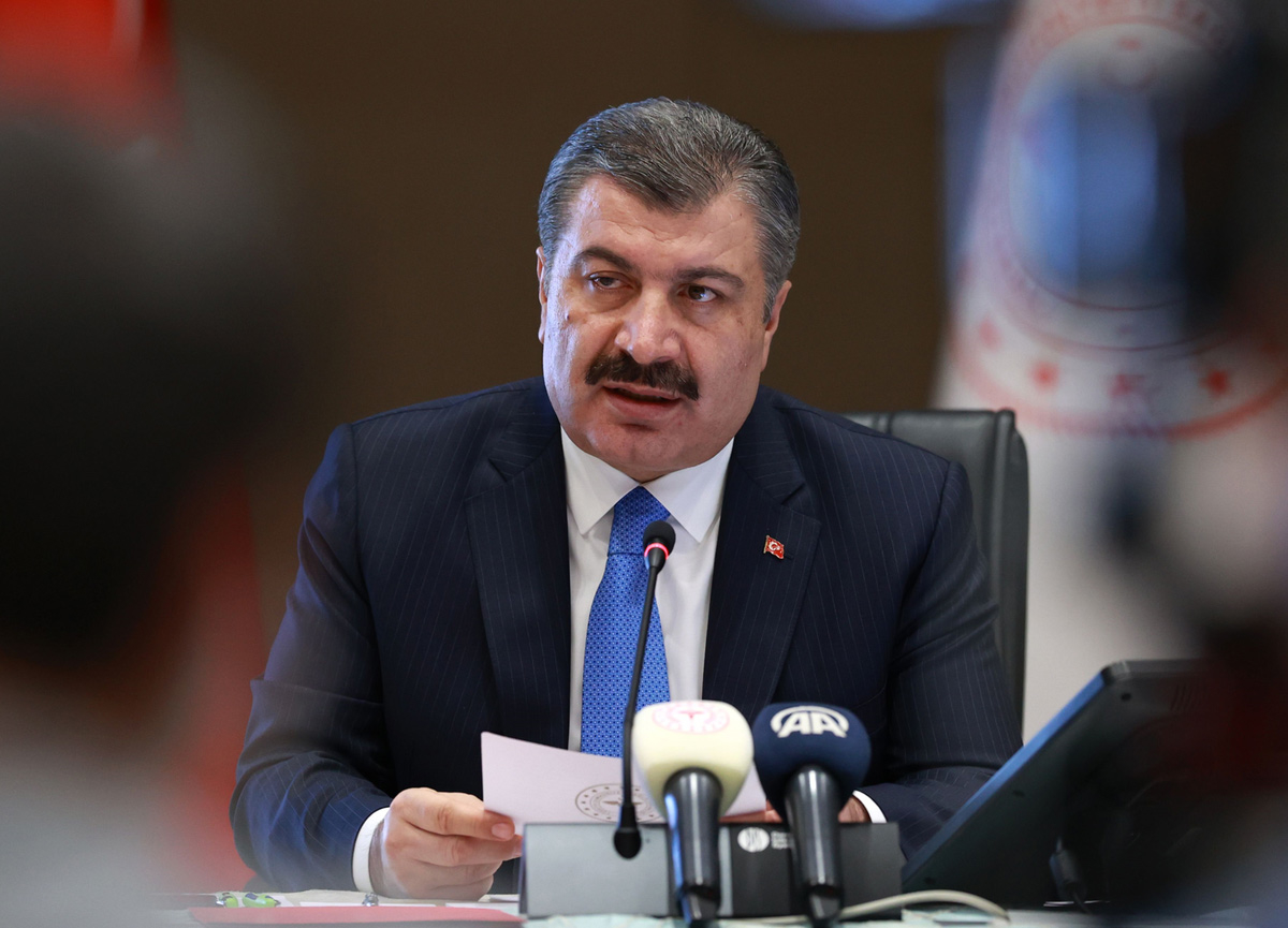 Bakan Koca açıkladı! Türkiye'deson 24 saatte koronavirüs yüzünden 55 kişi yaşamını yitirdi