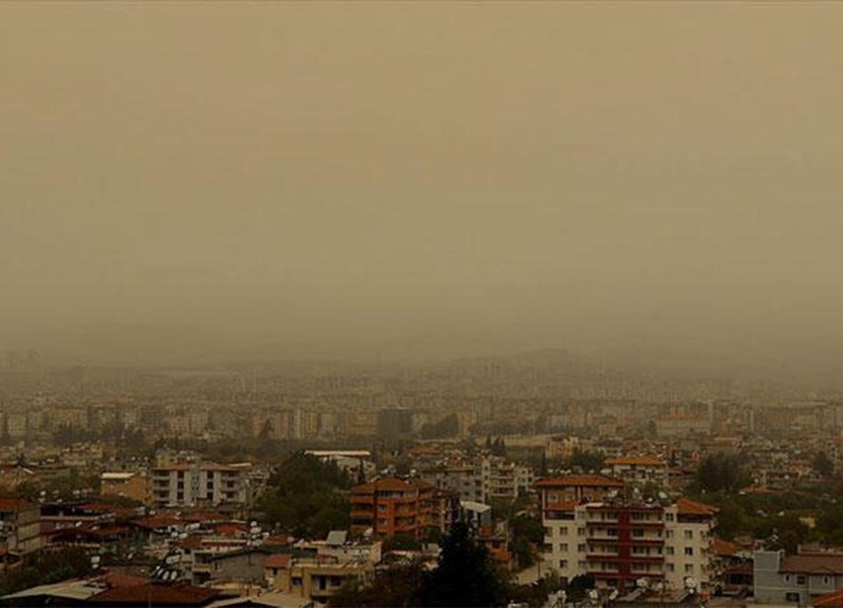 Meteoroloji'den Marmara ve Ege'ye toz taşınımı uyarısı