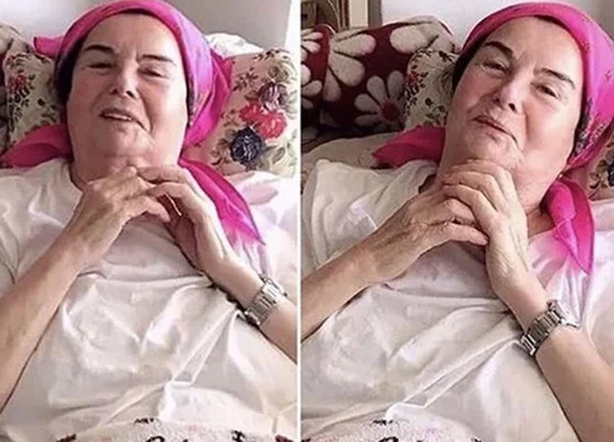 Fatma Girik beyin ameliyatının ardından sosyal medya hesabından fotoğraf paylaştı