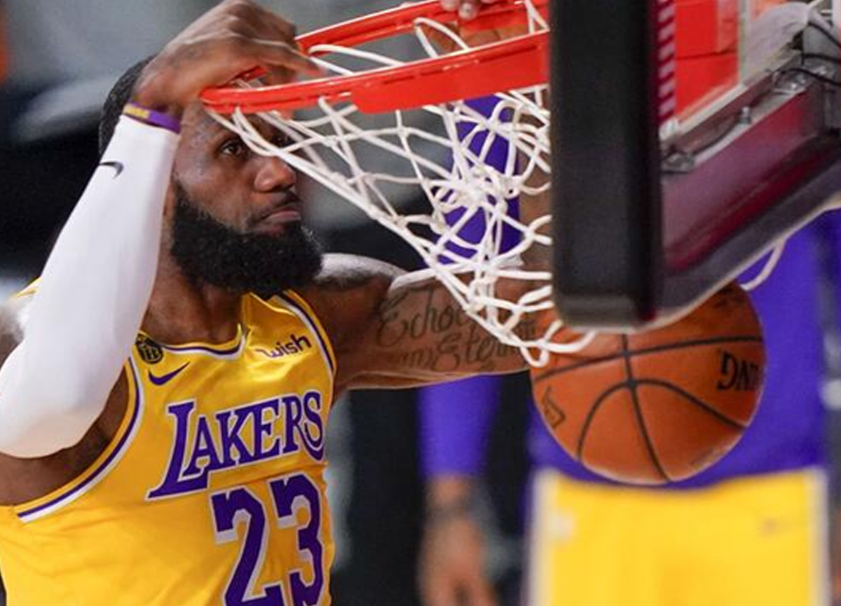 LeBron James liderliğindeki Lakers şampiyonluğa gidiyor: Los Angeles Lakers - Miami Heat: 102-96