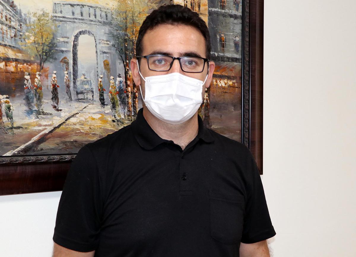 Eskişehir'deki hastane müdürü 21 günlük koronavirüs tedavisinde 17 kilo verdi!