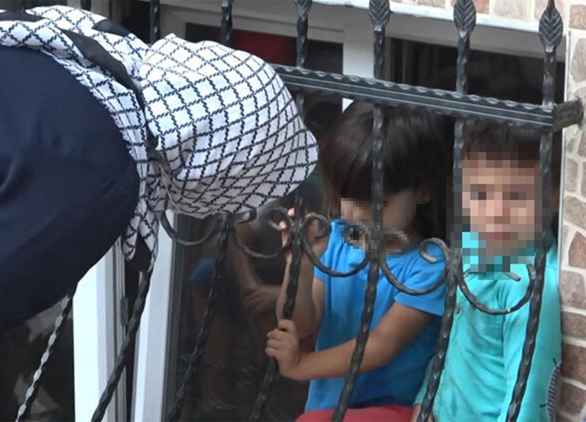 Esenyurt'ta bir baba, 3 çocuğunu evde yalnız bıraktı!