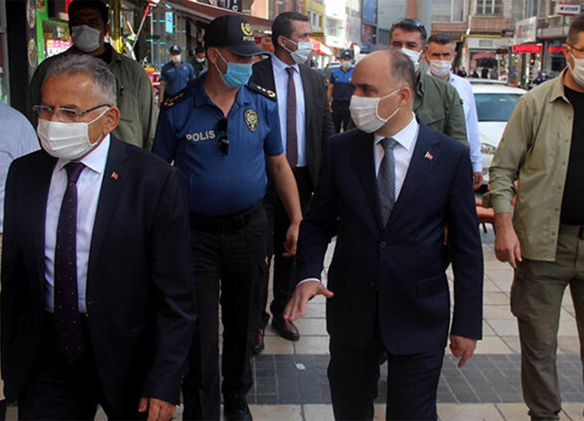 Kayseri Valisi net konuştu: 'Maskenin zorunlu olduğu alanlarda sigara yasak!'