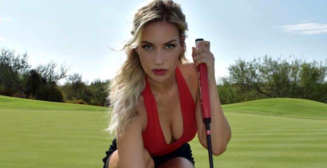 Golf sahalarının sarışın güzeli hayatının hatasını yaptı, küfürler yağmur gibi yağdı
