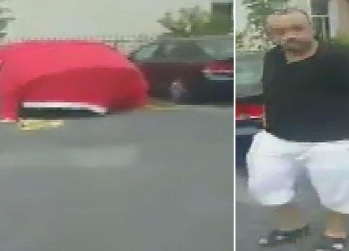 Otomobilini doludan korumak için Türk Bayrağı örtmüştü... Gözaltına alındı, kendini böyle savundu