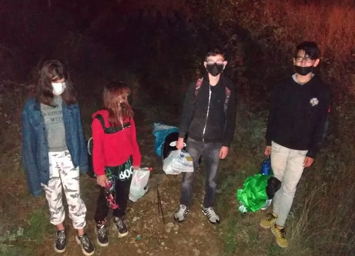 Son dakika haberi... Uşak'ta kaybolan dört çocuk Kütahya Simav'da bulundu