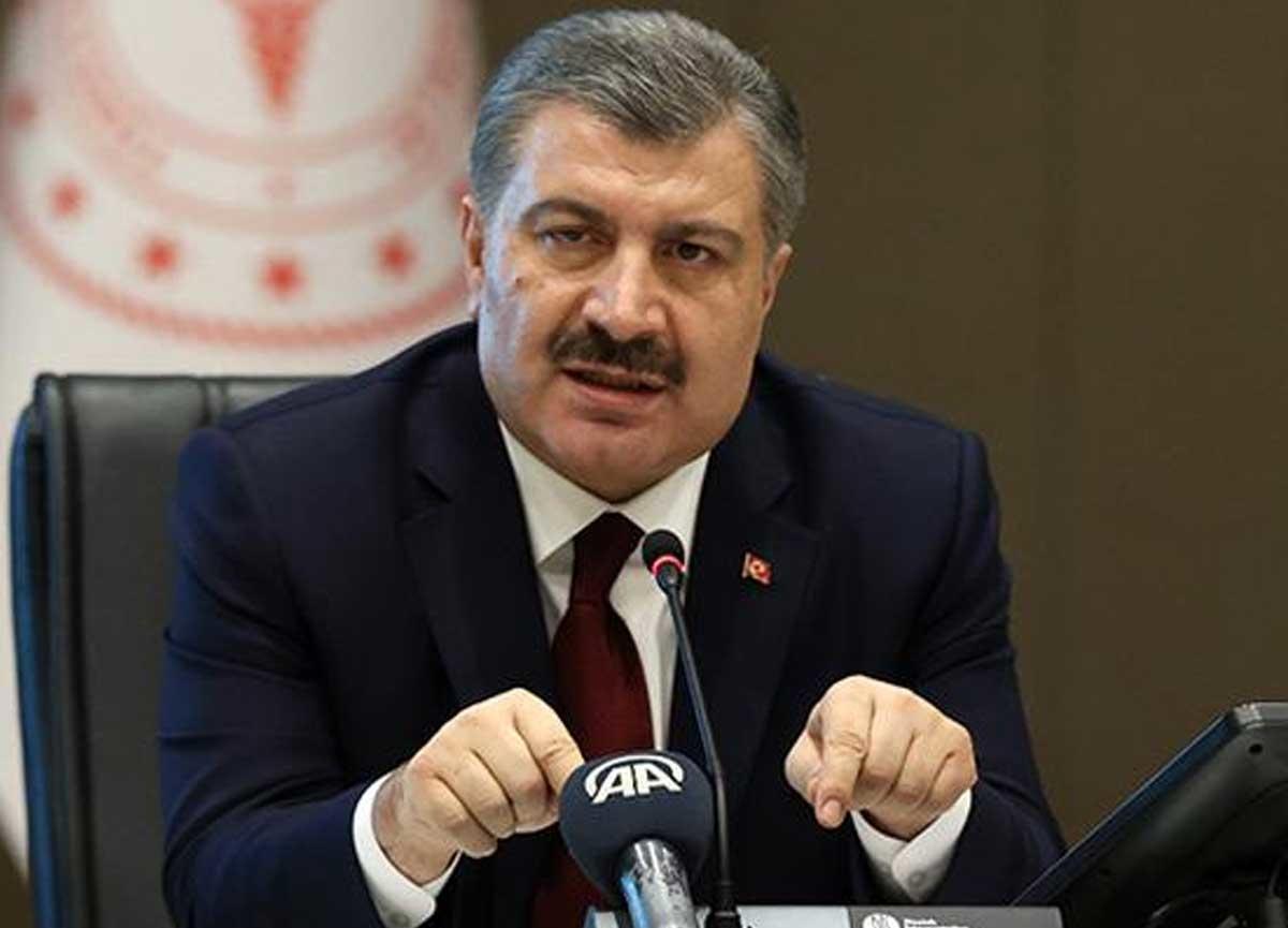 Bakan Koca açıkladı! Türkiye koronavirüs yüzünden son 24 saatte 56 kişi yaşamını yitirdi