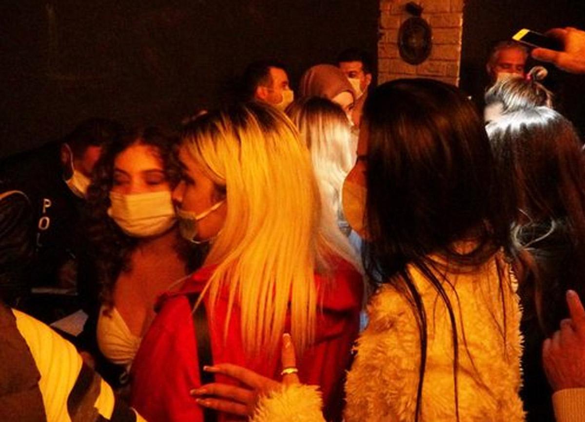 Polis 'korona parti'sini bastı: 239 bin TL ceza kesildi