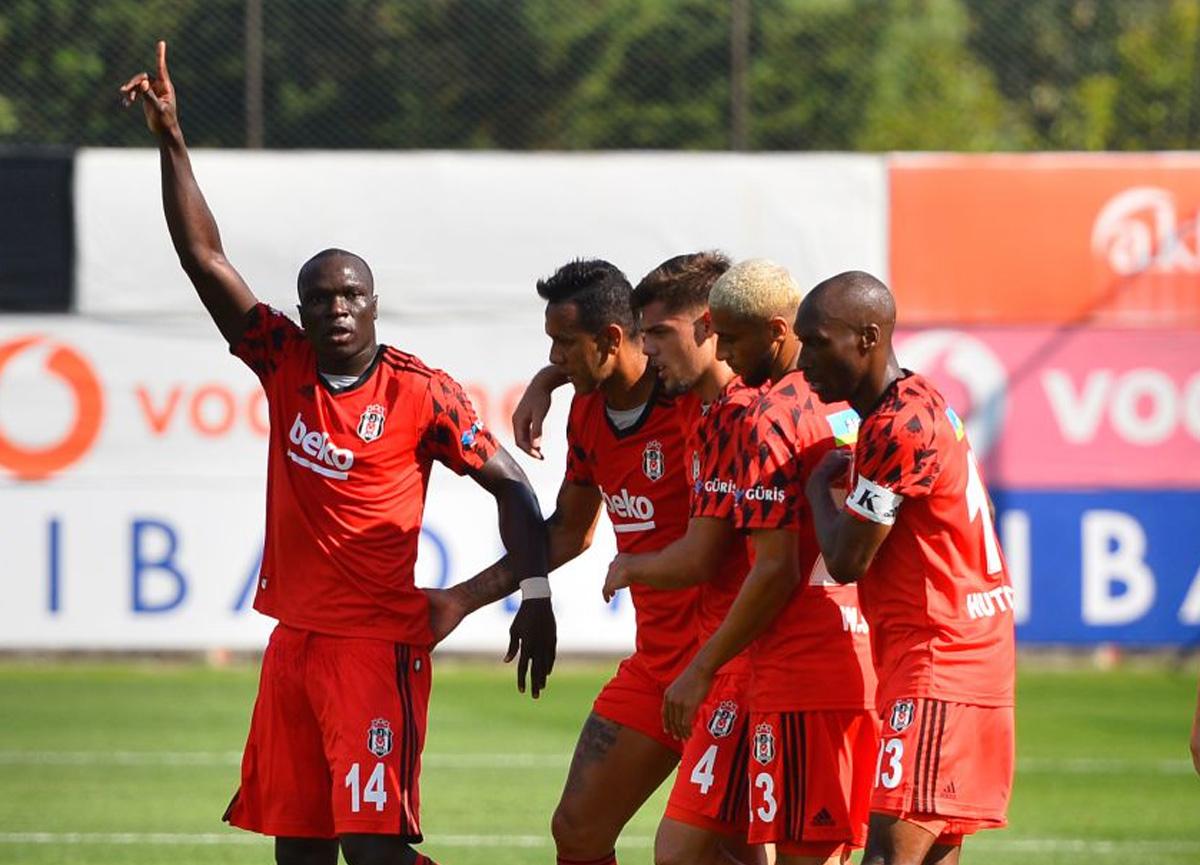 Beşiktaş hazırlık maçında Fatih Karagümrük'ü 5-2 mağlup etti!