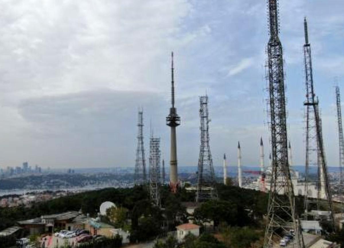 Çamlıca'daki antenler kaldırılıyor! 28 anten yok edildi...